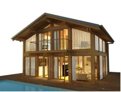 Vendita case prefabbricate brescia for Vendita case in legno prefabbricate